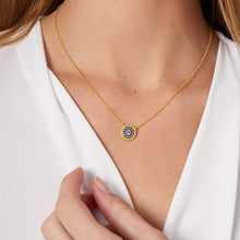 Load image into Gallery viewer, Nautical Button Necklace