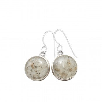 Sandglobe Drop Earring
