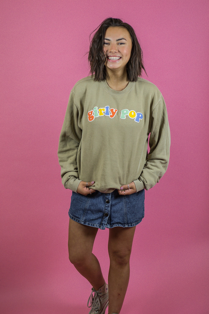 Girly Pop Sandstone Crewneck