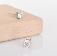 Load image into Gallery viewer, CZ Stud Earrings
