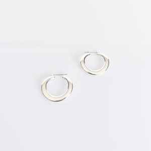 Heidi Metal Hoop Earrings
