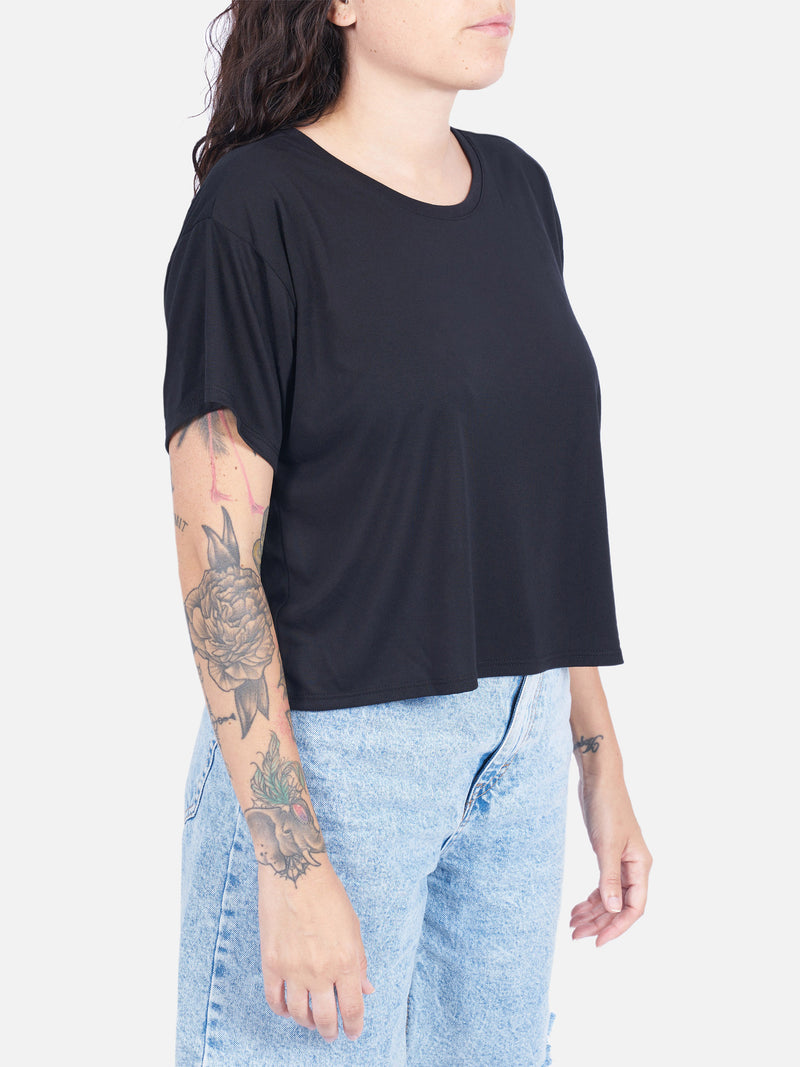 Delilah Women's Cropped Tee