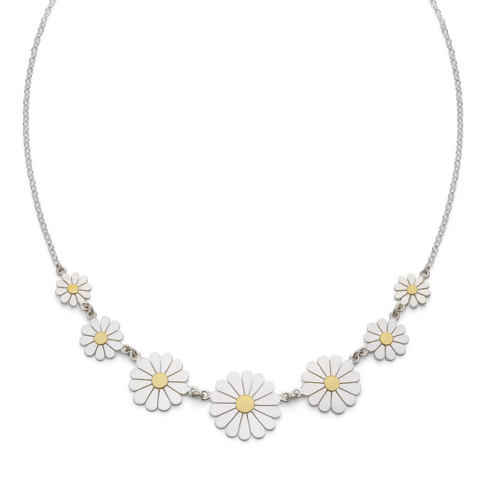 Daisy Necklace by Diana Greenwood Jewellery
