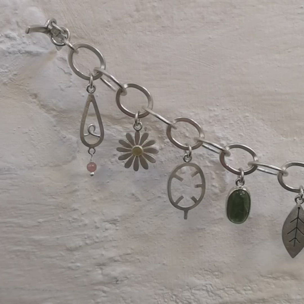 summer garden bracelet by diana greenwood