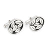Leaves cufflinks by Diana Greenwood