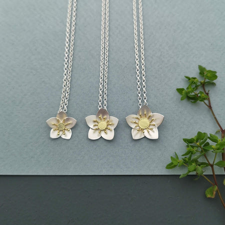 hellebore necklaces by diana greenwood