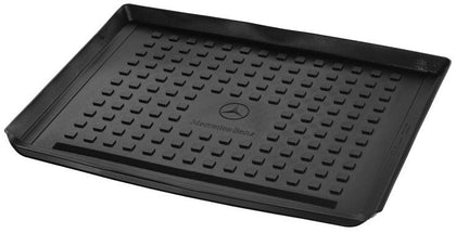BANDEJA PORTA OBJETOS NEGRA PARA PISO MALETERO GLE -  BLACK OBJECT HOLDER TRAY FOR GLE TRUNK FLOOR