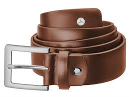 CINTURÓN, CORREA DE PIEL GENUINA PARA HOMBRE COLOR MARRON/Men's belt, brown
