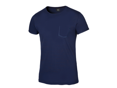 Camiseta de caballero/Men's Mercedes-Benz T-shirt, navy, 2018