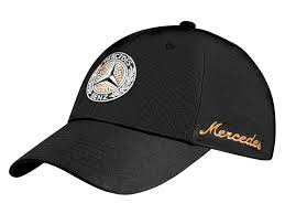 GORRA CLASICA MERCEDES BENZ PARA MUJER CON CRISTALES SWAROVSKY - CLASSIC MERCEDES BENZ CAP FOR WOMEN WITH SWAROVSKI CRYSTALS