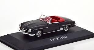 MODELO A ESCALA MERCEDES BENZ 190 SL 1955 -  SCALE MODEL MERCEDES BENZ 190 SL 1955
