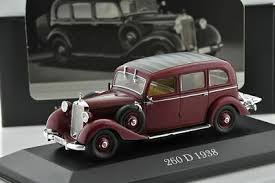 MODELO COLECCIONABLE MERCEDES BENZ 260D 1938 -  COLLECTABLE MODEL MERCEDES BENZ 260D 1938