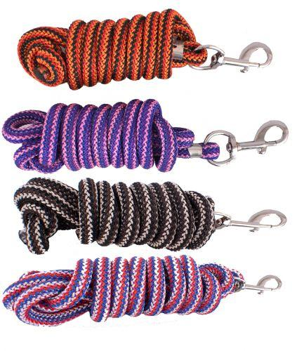 Nylon Pro Braided Lead Rope - KP Pet Supply