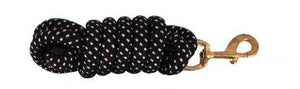 Nylon Pro Braided Lead Rope with Brass Hardware - KP Pet Supply