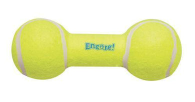 Tennis Barbell Dog Toy - KP Pet Supply
