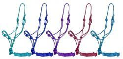 Horse Size Cowboy Knot Halter with Matching Lead. - KP Pet Supply