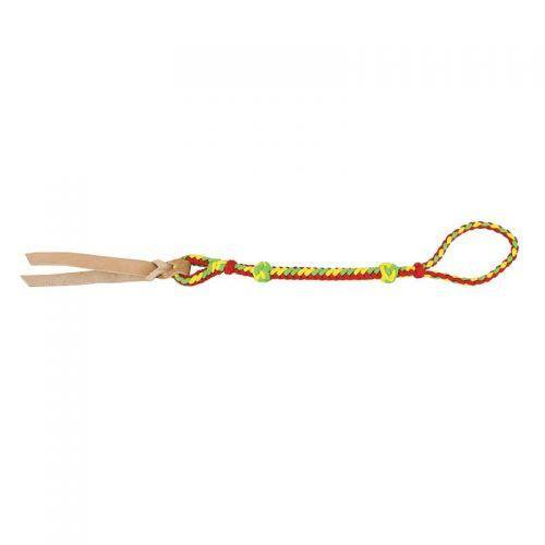Braided Barrel Quirt with Leather Popper - KP Pet Supply