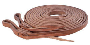 "1/2"" x 8ft Harness leather split reins. - KP Pet Supply"