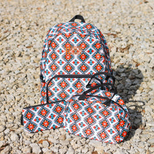 Load image into Gallery viewer, 3 Piece Patterned Backpacks