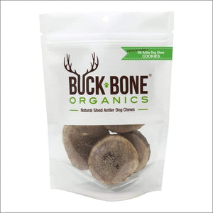 kp-pet-supply Buck Bone Organics Elk Antler Round Cookies Buck Bone Dog