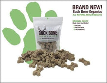 Load image into Gallery viewer, kp-pet-supply Buck Bone Organics- Organic Antler Biscuits Buck Bone Dog