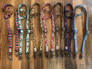 One Ear Headstalls Colorful Styles & Patterns - KP Pet Supply