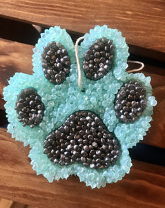Paw Print Smelly Jelly Car Scent Air Freshener - KP Pet Supply