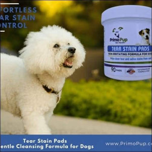 kp-pet-supply Primo Pup Tear Stain Pads Primo Pup Dog