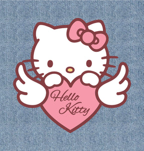 Aplique Termocolante Hello Kitty - HK-20200327