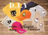 Aplique Termocolante Hello Kitty - HK-20200317