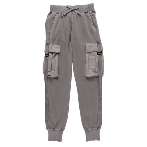 BIG POCKET SWEATPANTS GRAY