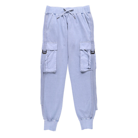 BIG POCKET SWEATPANTS BLUE