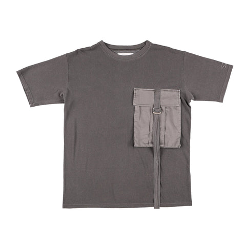BIG POCKET T-SHIRT GRAY