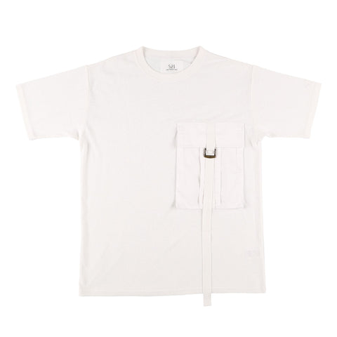 BIG POCKET T-SHIRT WHITE