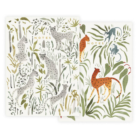 Wild Cats Notebook Set