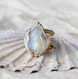 Kinship Moonstone ring