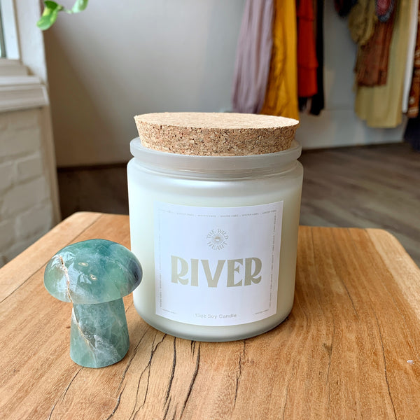 River Holiday 13 oz Candle