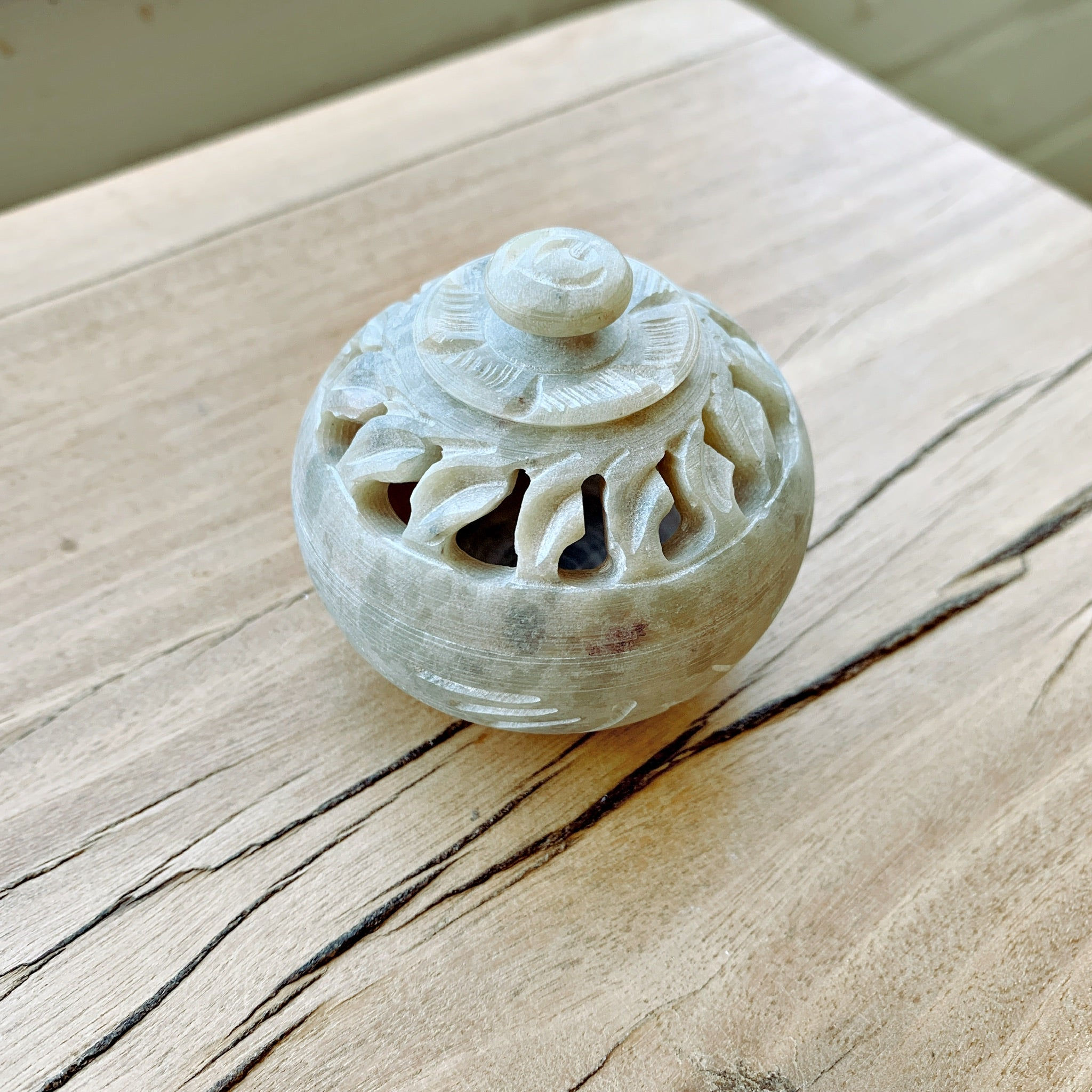 Soapstone Incense Burner #12
