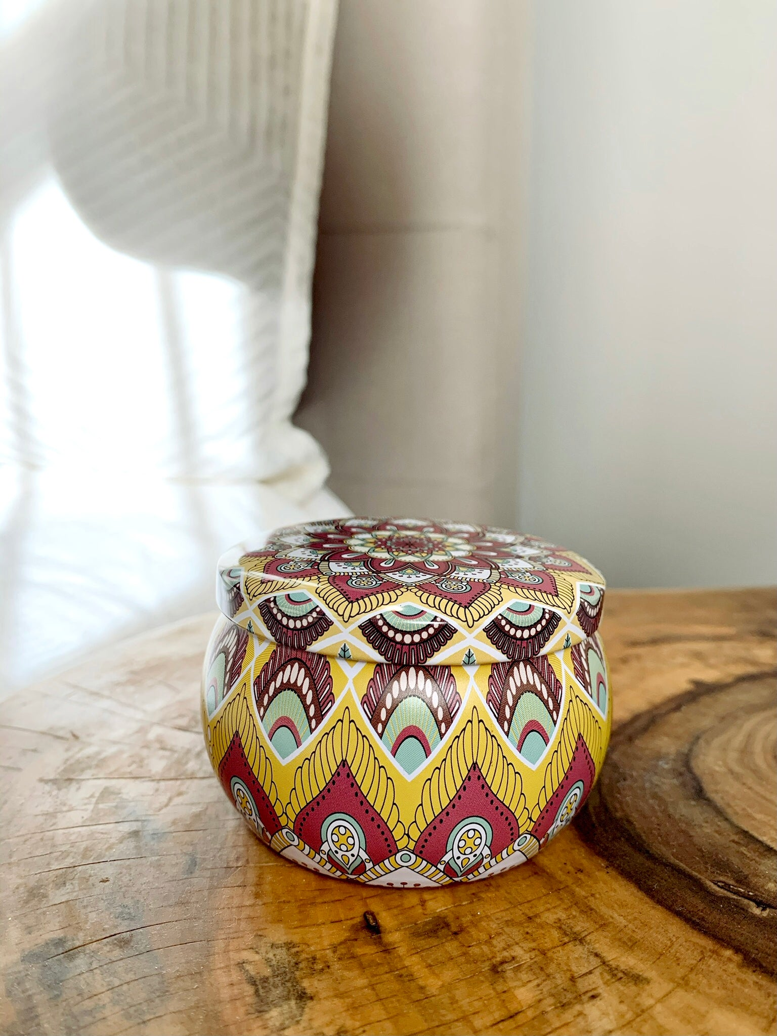 Trouble No More 4oz Mandala candle