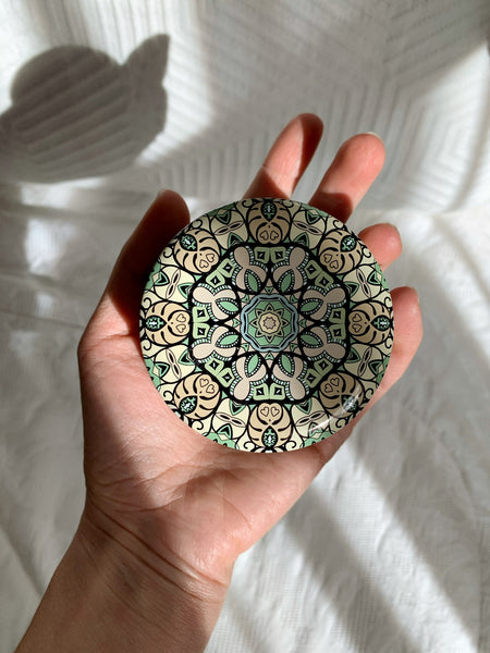 Slow Rollin' Low 4oz Mandala candle