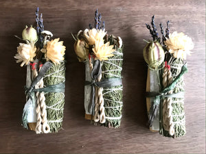 *Limited edition* Holiday Cedar smudge bundle