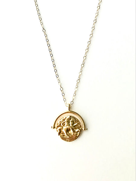 Spanish coin necklace