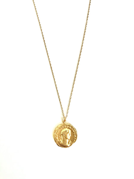 Greek coin necklace #3