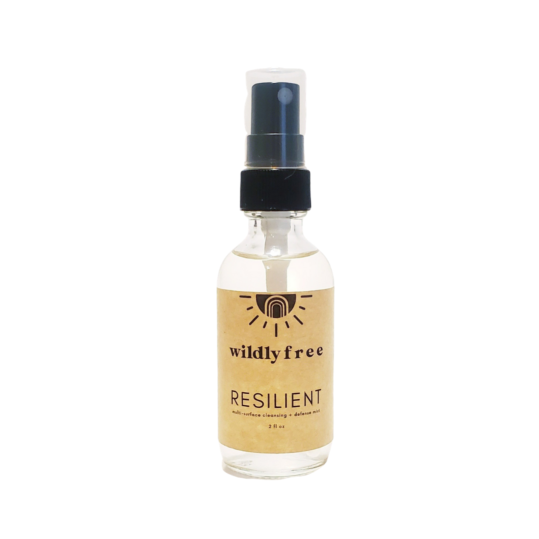 Resilient: Multi-Surface Cleansing and Defense Mist