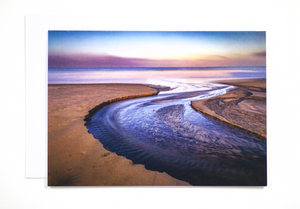 Sunrise in Encinitas Card
