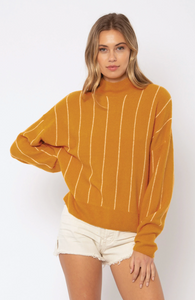 Aline Knit Sweater Amber