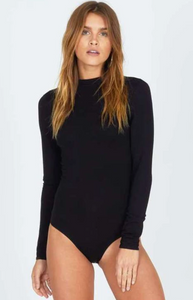 Ring My Bell Black Bodysuit