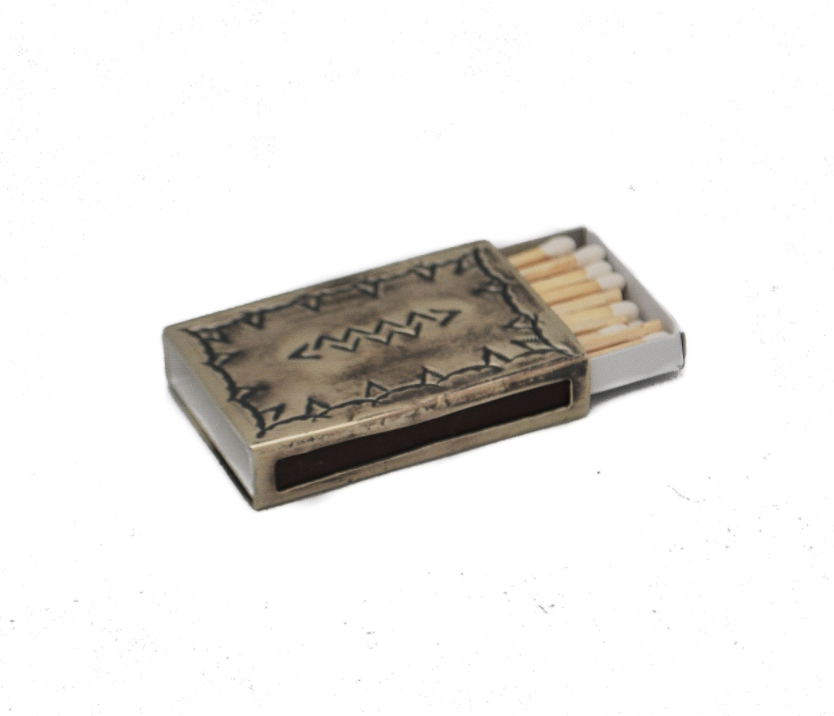 Small Stamped Matchbox