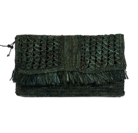 Estelle Clutch Dark Grey