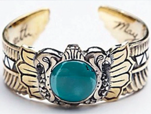 Scarab Cuff Turquoise